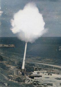 Firing of HARP - 17th June 1963