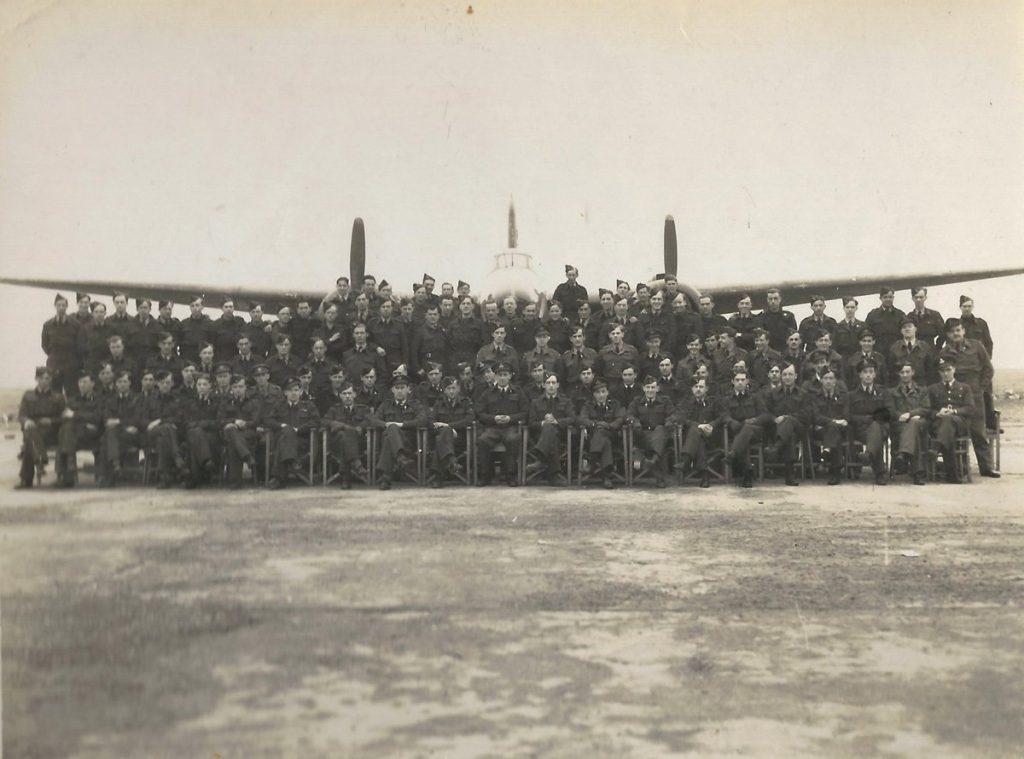 "88 Squadron ""B"" Flight disbandment photograph March 1945"