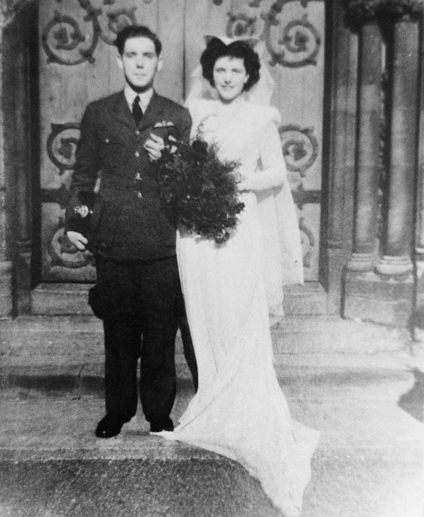 Andy Cole & Joyce Wilson wedding