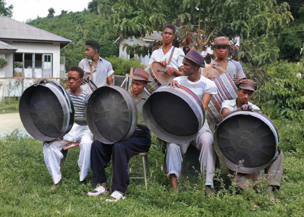 Sun Valley Steel Band- colorized
