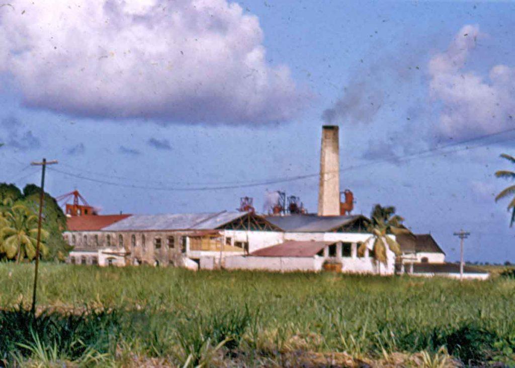 Three Houses Sugar Factory, St. Philip, Barbados - 1954