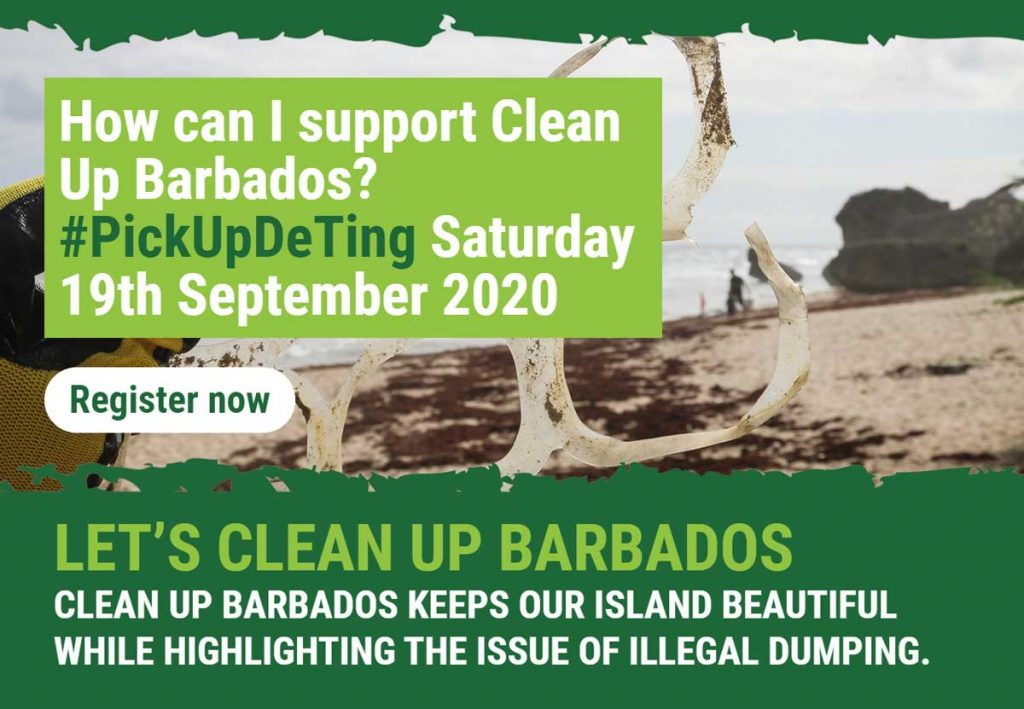 Pick Up De Ting - Clean Up Barbados - 19 September 2020