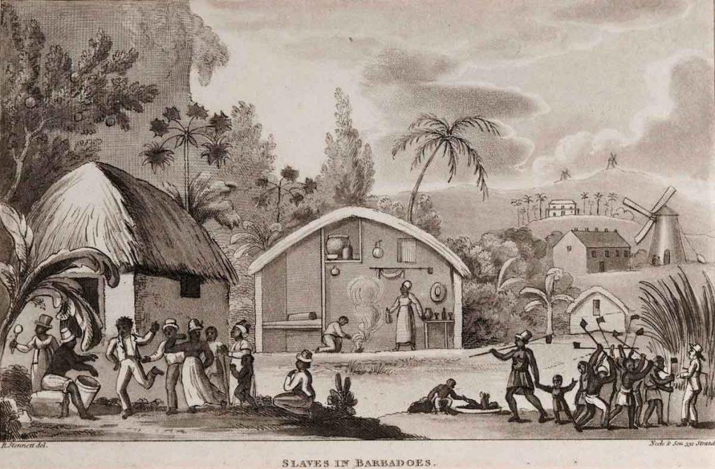 Slaves in Barbados