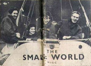 The Small World crew