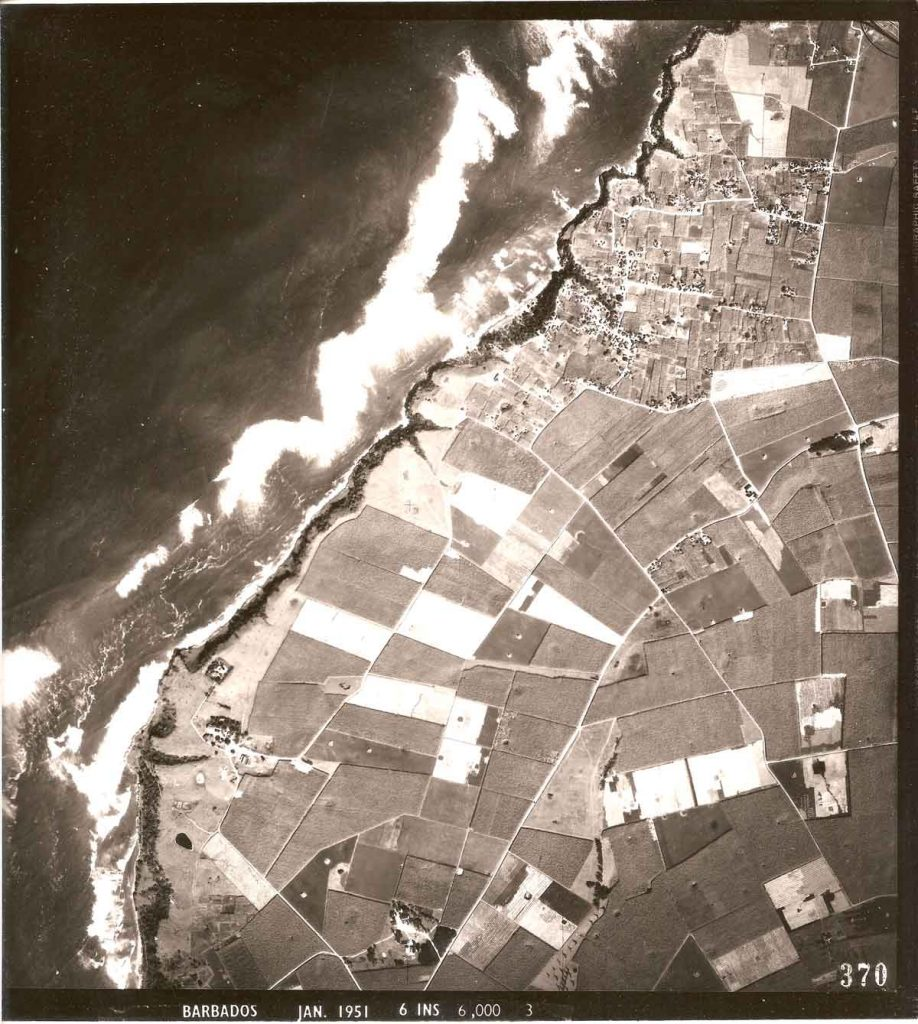 1951 aerial photograph - Harrison's Point Lighthouse