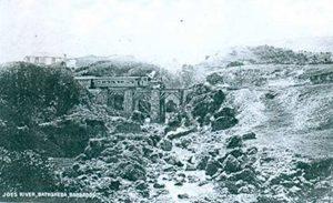 Joe's River railway bridge - Barbados Railway