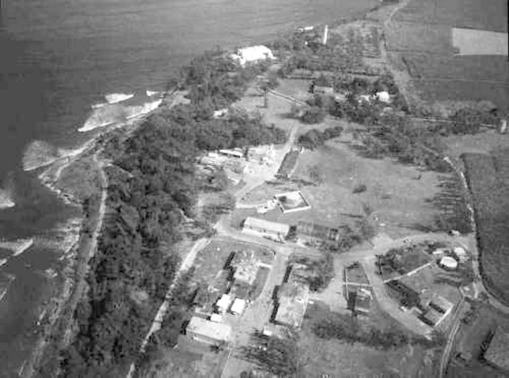 NAVFAC Barbados - showing the Harrison's Point Lighthouse