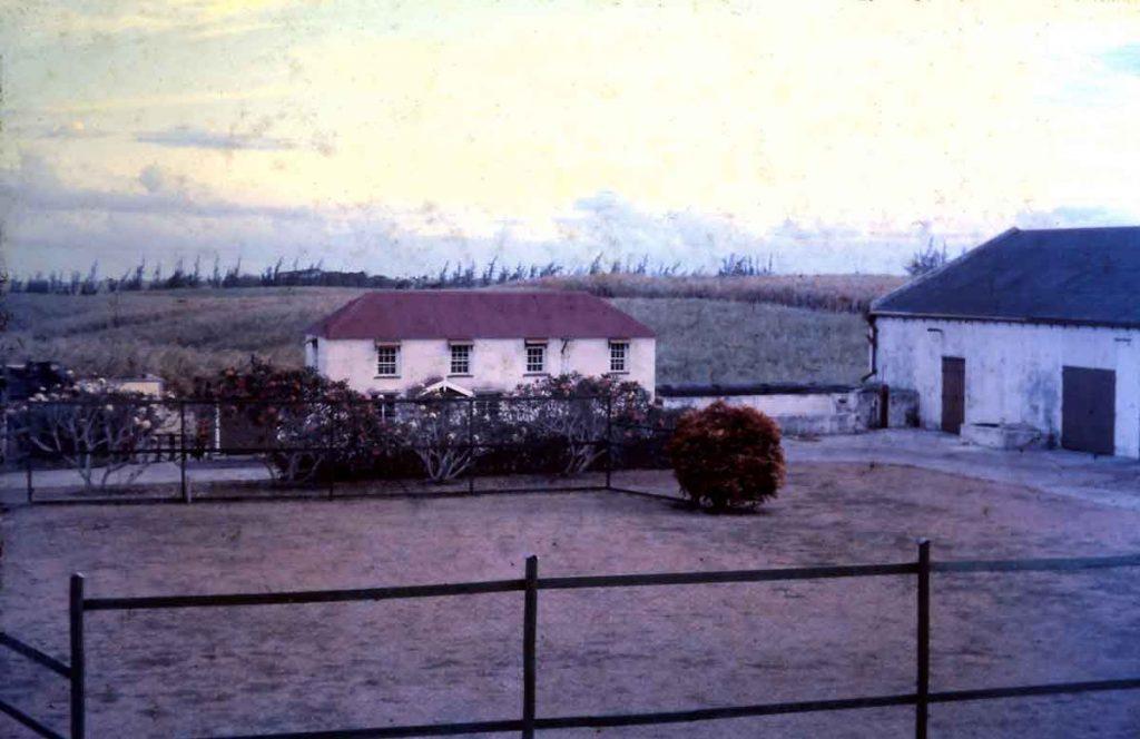 Ashbury Plantation - plantation manager house
