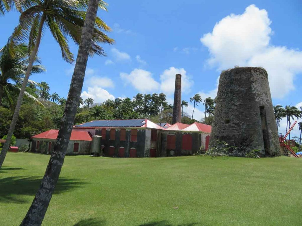 Barbados plantation windmill