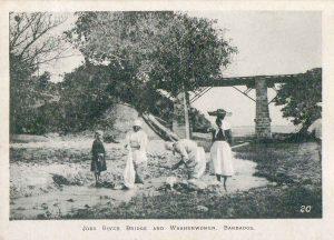 Washerwomen - Joes River Bridge Barbados