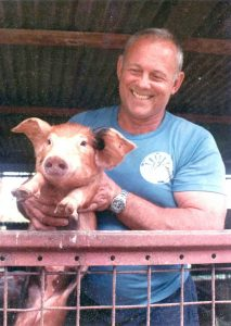 Richard Goddard pig farmer
