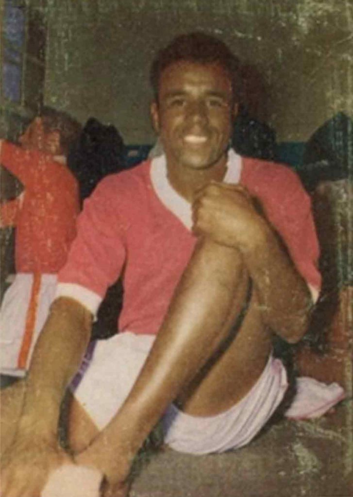 Black Bajan pioneering Englsih Footballers