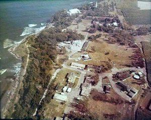 Aerial view of NAVFAC Barbados