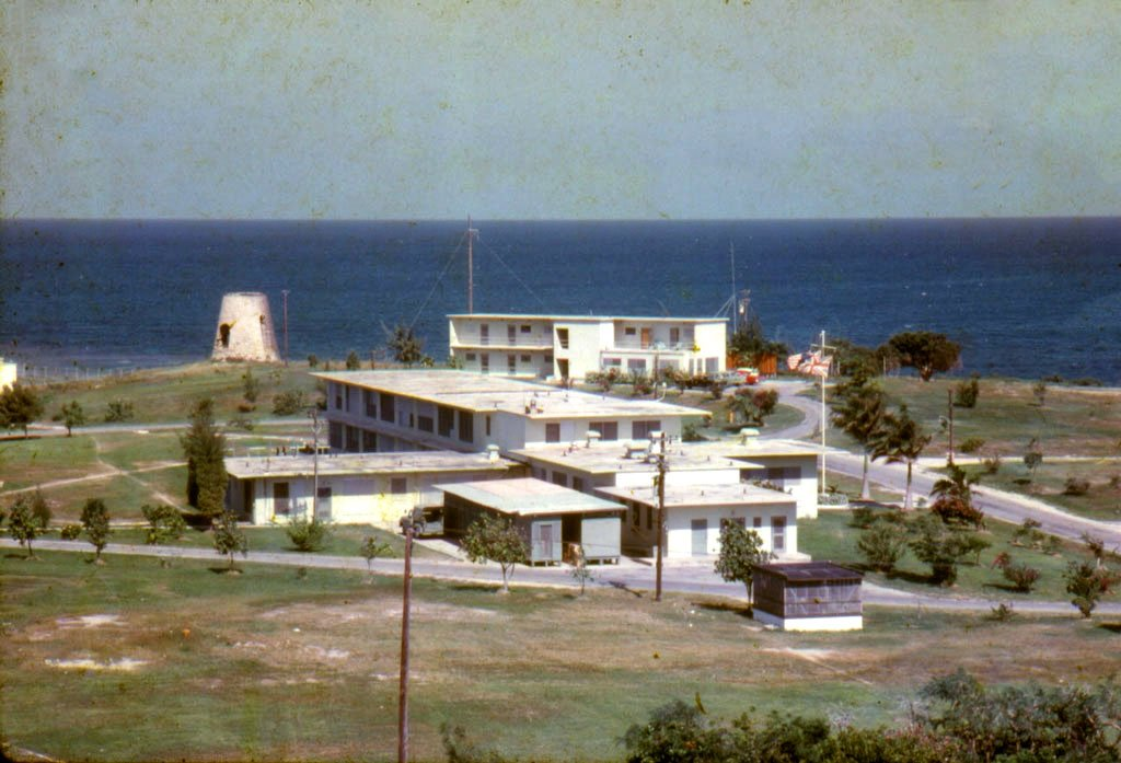Early photo of NAVFAC Barbados