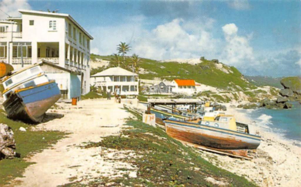 Atlantis Hotel Bathsheba postcard