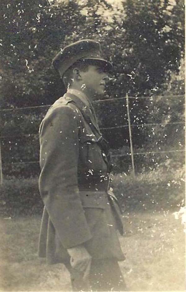 EA Boyce -1918 Barbados Volunteer Force