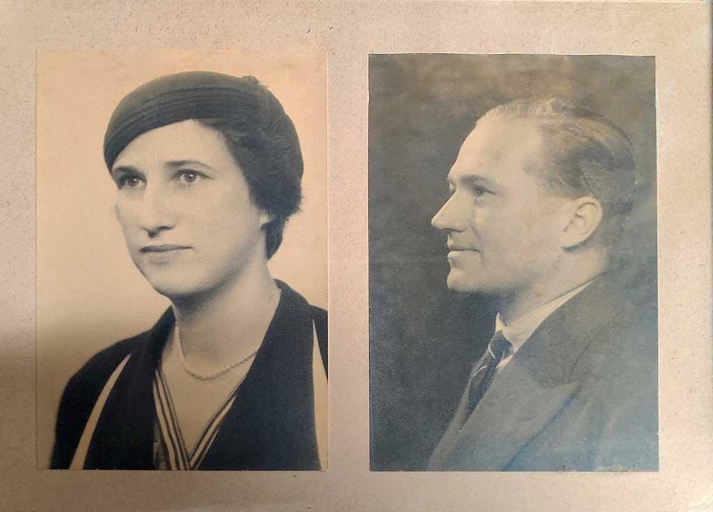 Enid Boyce Audley Boyce - Nassau 1934