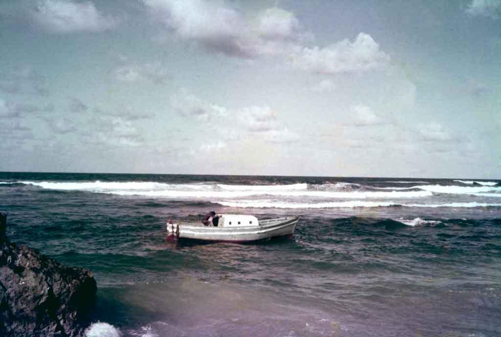Tent Bay fishing boat.