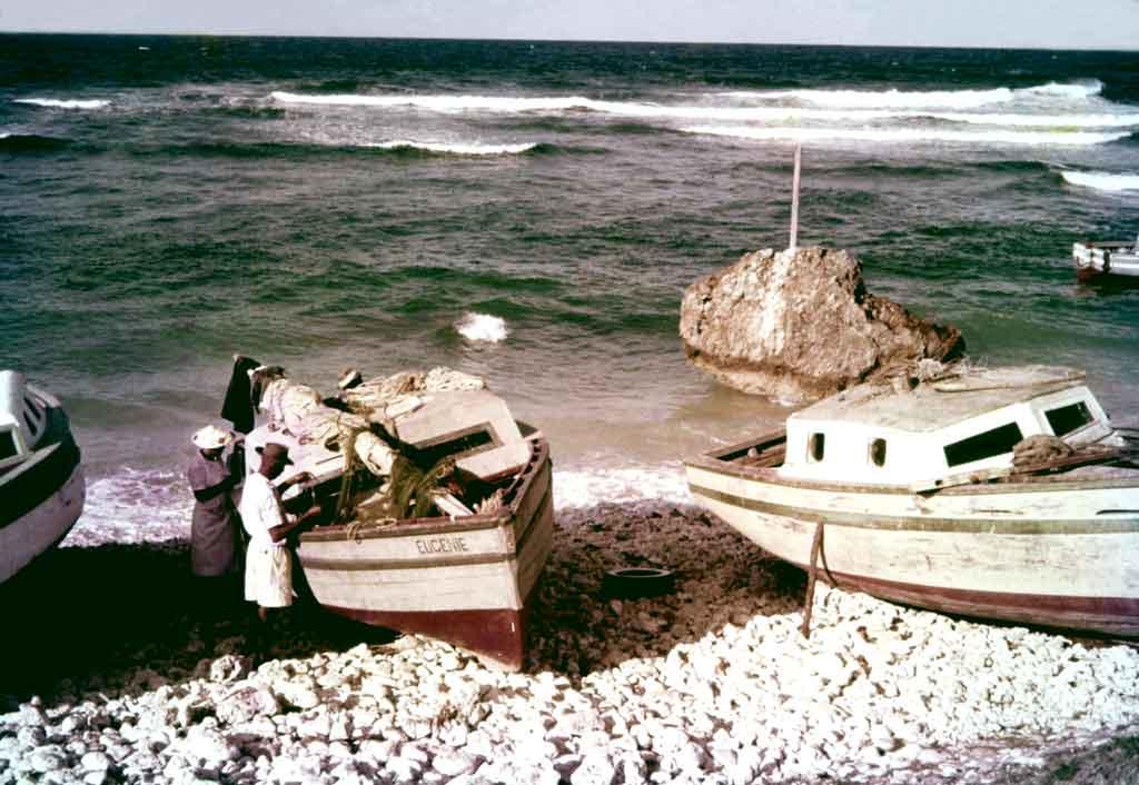 Tent Bay fishing boats.