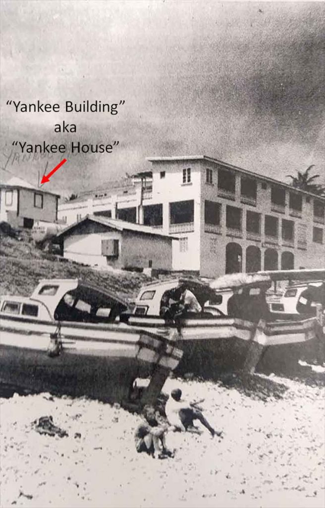 Yankee House Tent Bay