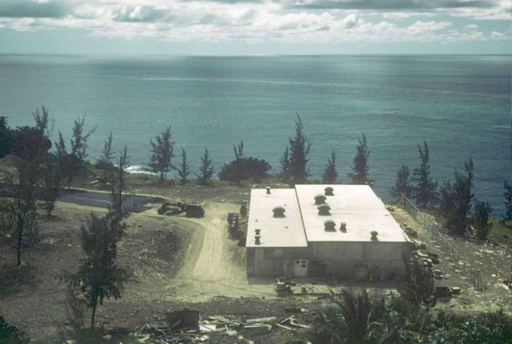 NAVFAC Barbados Terminal-Building - 1957